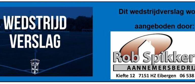 Historische 0-1 uitzege voor Rietmolen in Neede!